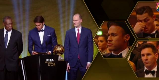 The FIFA Ballon d'Or Goes to.......Messi