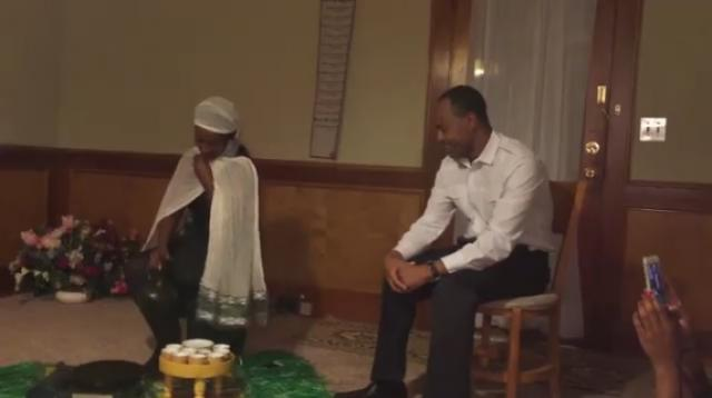 Funny Short Drama by Ethiopians in US - wife and husband