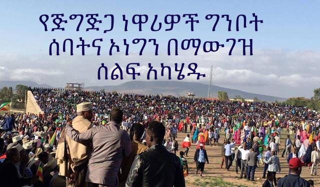 Residence in Jijiga City Demonstration Against Ginbot 7 & OLF