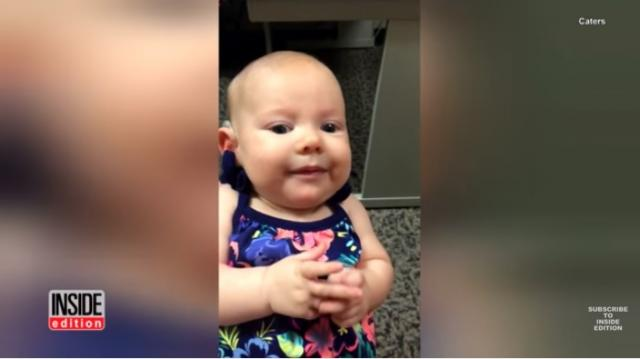 Watch This 3-Month-Old Hear Mom's Voice For The First Time: 'It Was Surreal'
