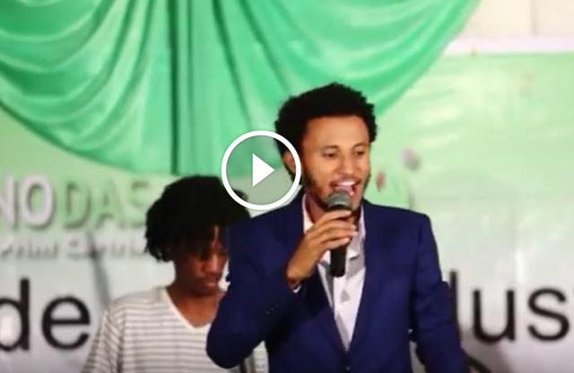 Dawit Tsige's Performance @ Nano Print Cartridges Event