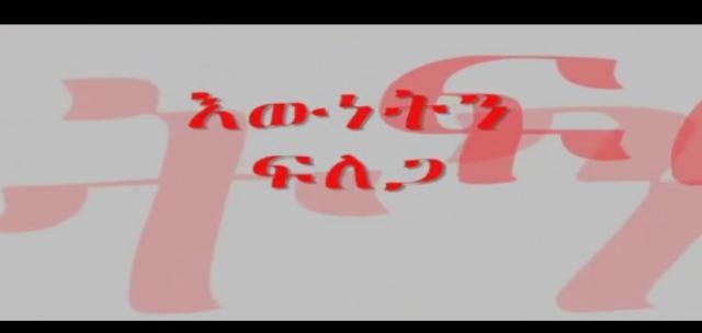 Ewnetin Filega (እውነትን ፍለጋ) By Poet Ephrem Seyoum