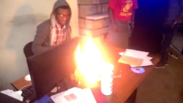 Ethiopian Prank with a fire