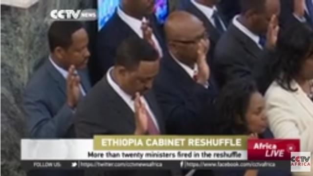 More than twenty ministers fired in Ethiopia cabinet reshuffle