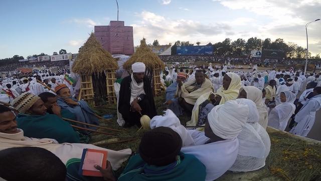 DireTube Eyes - Meskel Celebration in Addis Ababa at Meskel Square Sep 27, 2015