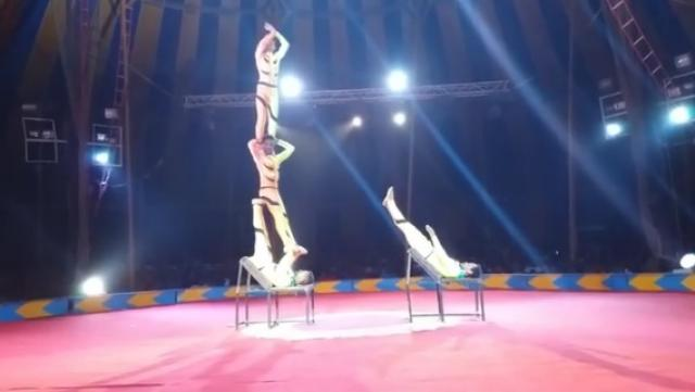 Must Watch! Amazing Circus performance by Ethiopians