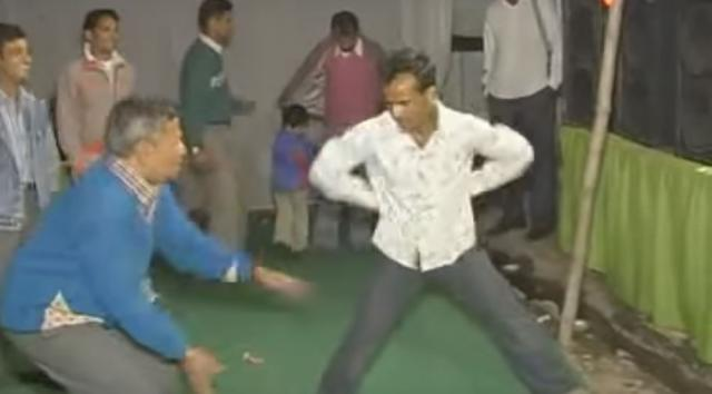 watch this funny Indian Party Dance