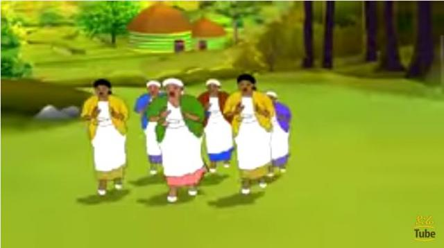 Ethiopian Animation Dance: Guragigna Dance
