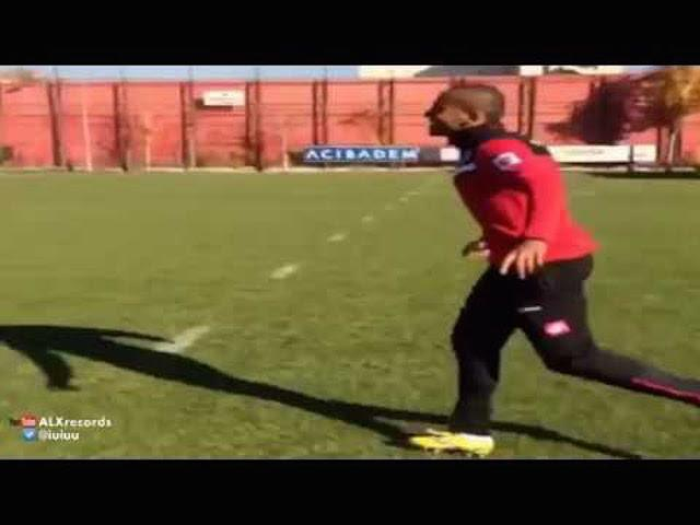 Ethiopian defender Walid Atta scores an outrageous rabona golazo at Genclerbirligi training