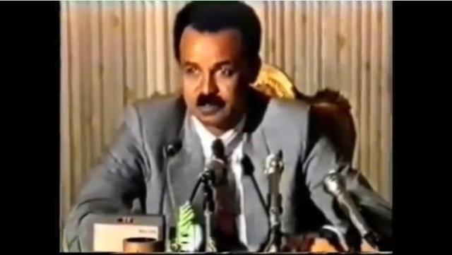 Ethiopia: Eritrean president Isayas Afework interview in Addis Abeba 1993