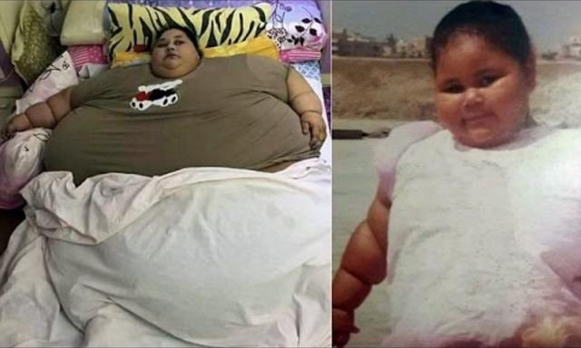 World's fattest woman weighing 500 kilos hasn't left her home for 25 years and can't clean