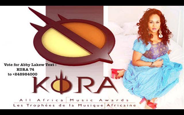 Abby Lakew Kora Awards 2016 Nominated for Best traditional female artist of Africa