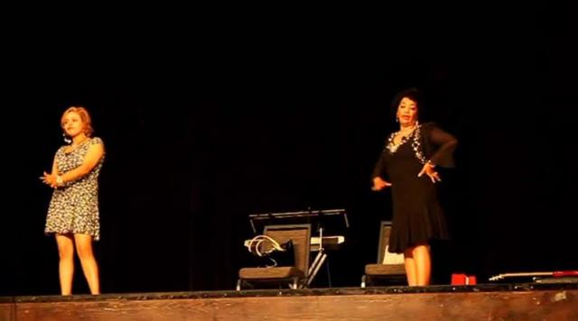 Drama by Alemtsehay Wedajo and Tigist on Ethiopia Day, Dallas