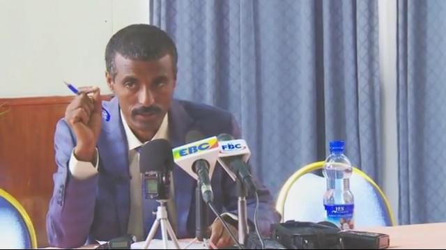 Ethiopia: Molla Asgedom Answering Questions raised by journalists