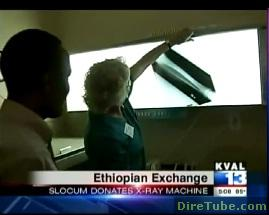 KVAL 13 News - Slocum Center in Eugene, Oregon donates x-ray machines to Ethiopia