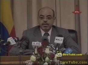 Ethiopian News - Interview with Prime Minister Meles Zenawi - Part 1