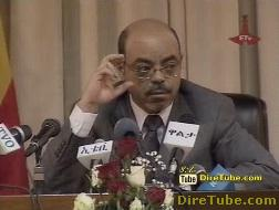 Ethiopian News - Interview with Prime Minister Meles Zenawi - Part 4