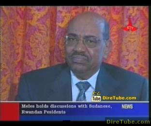 Ethiopian News - Meles holds discussions with Sudanese and Rwandan Presidents