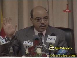 Ethiopian News - Interview with Prime Minister Meles Zenawi - Part 3