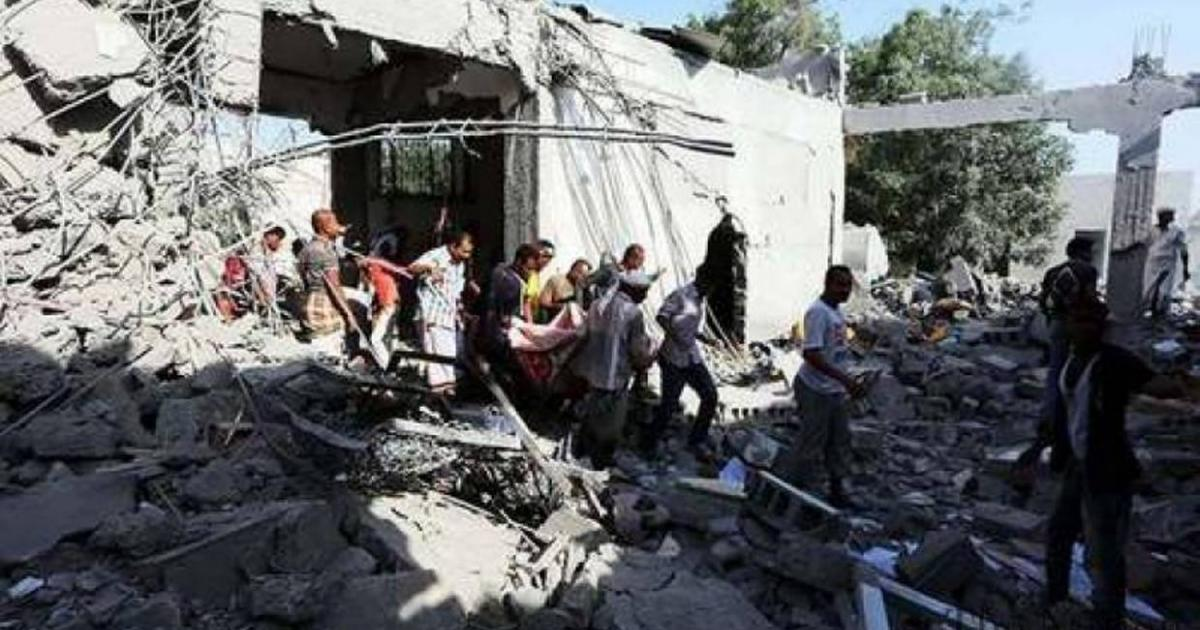 Saudi airstrike in Yemen leaves 20 civilians dead