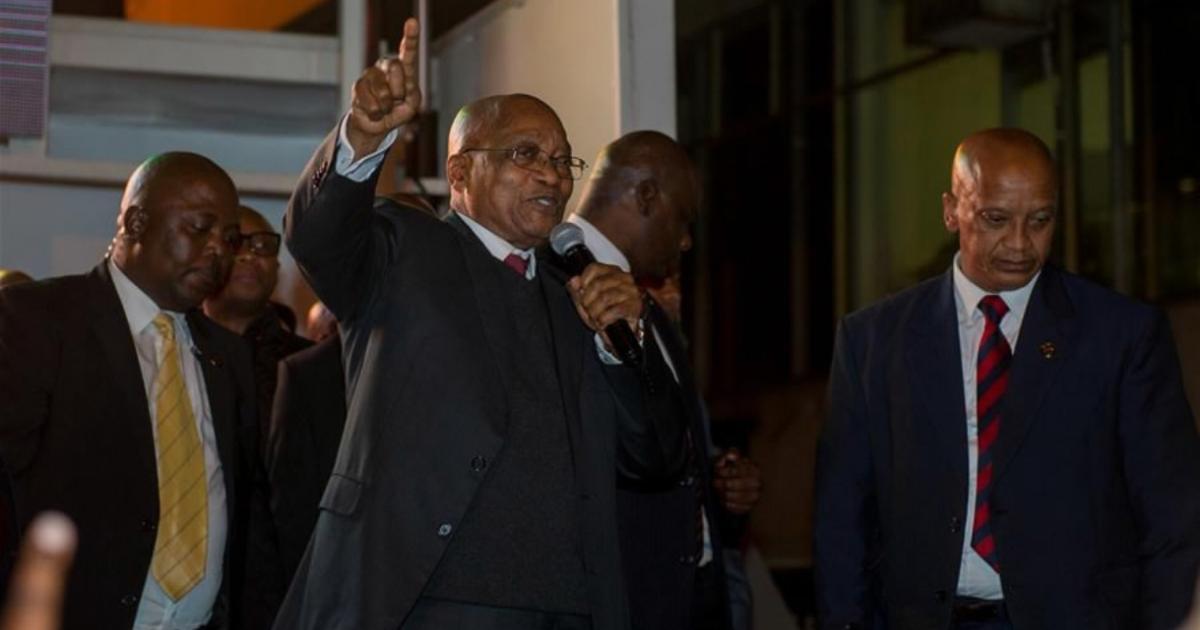 S. African President Zuma survives secret ballot to remove him