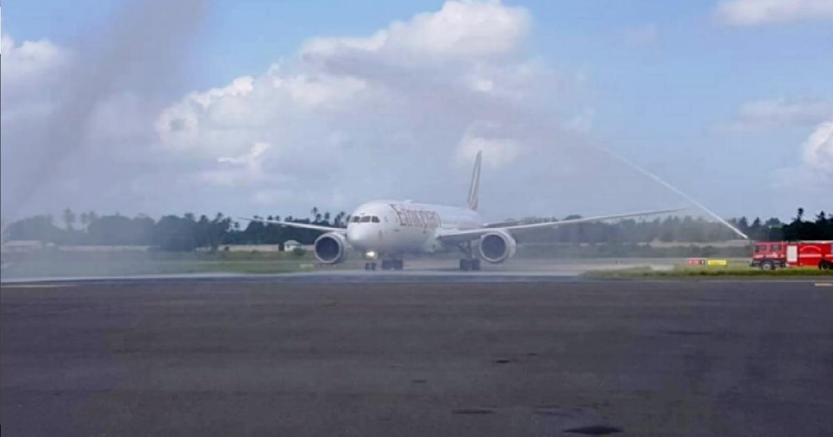 Africa's First Ethiopian B787-9 Lands at Africa's Spice Island, Zanzibar