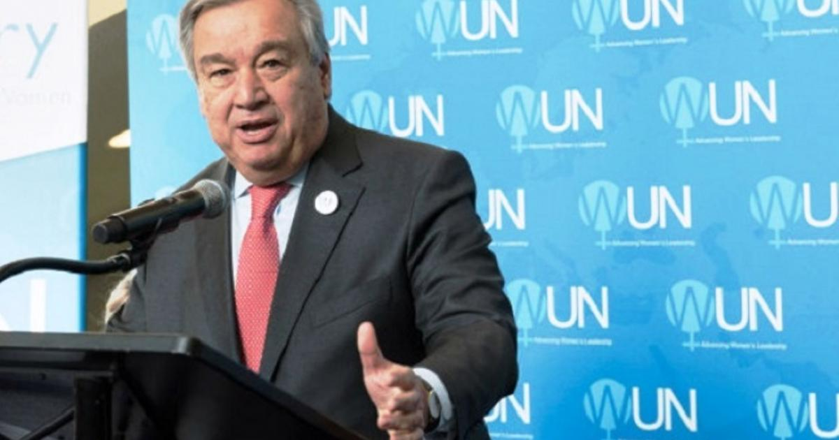 UN chief urges G7 countries to invest in Africa