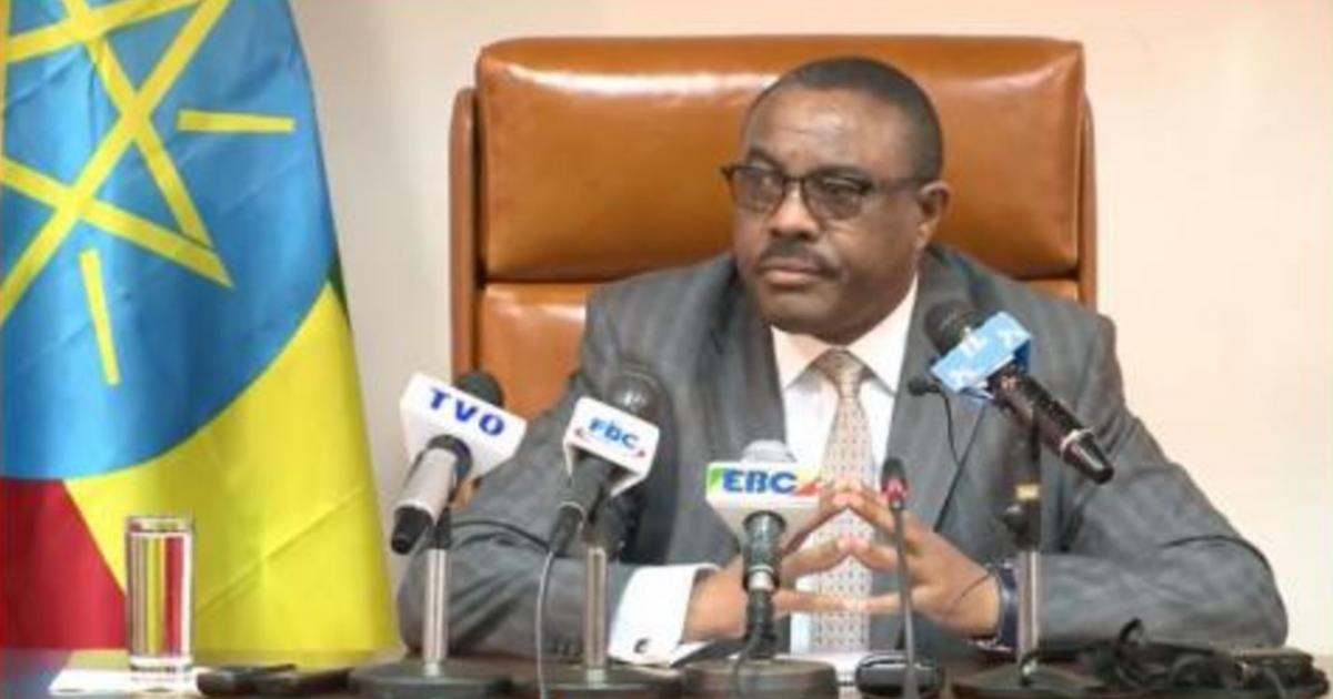 PM Hailemariam: Announced the Cancellation of a plan to construct the Railway in the Northwest Ethiopia