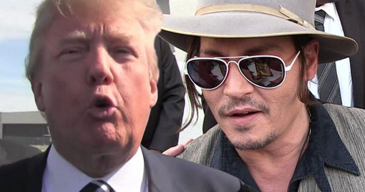 Movie Star Johnny Depp Apologizes for Trump assassin...
