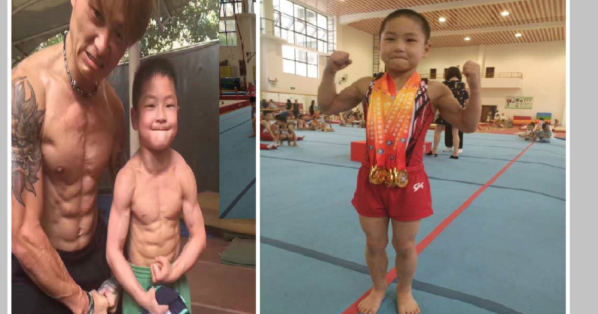This 7-year-old Chinese boy stuns Internet with his eight-pack abs!