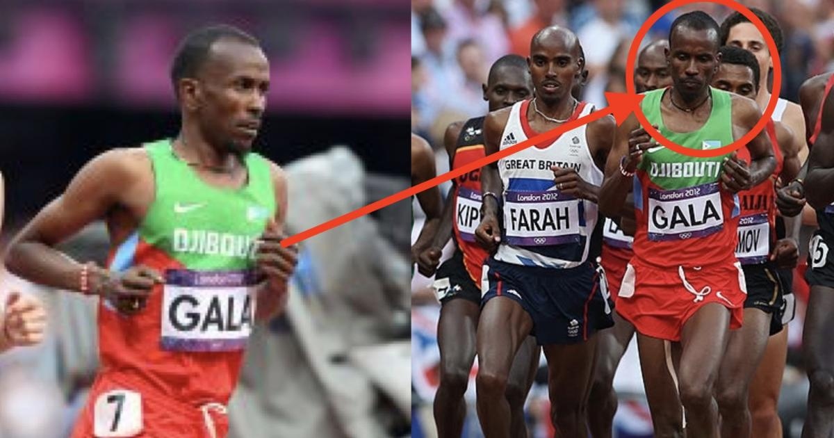 Olympic athlete Mumin Gala in a Hospital after a car Accident in Addis Ababa
