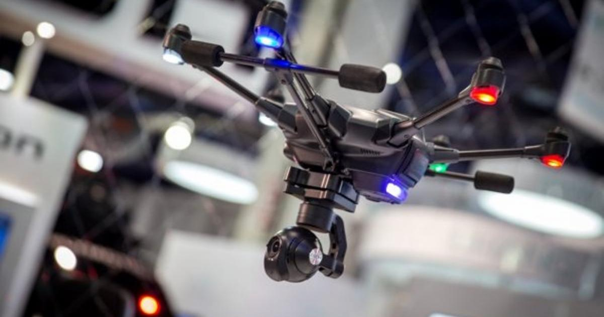 US police are now using drones to gather evidence on crime investigations
