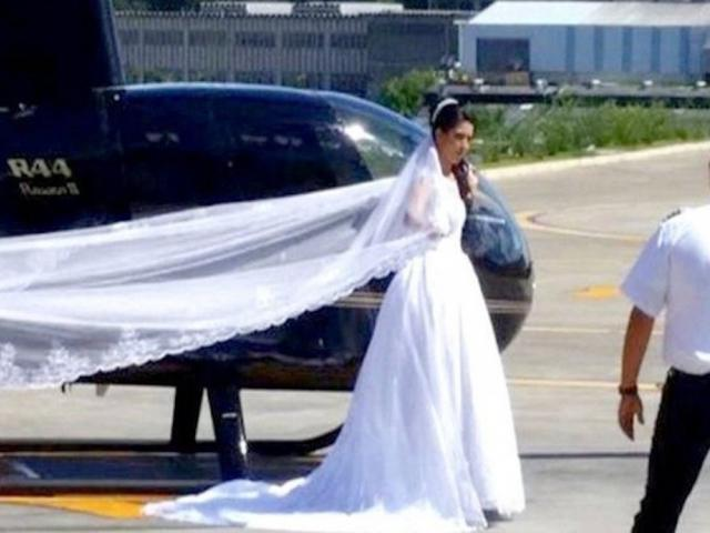 Bride killed in helicopter crash en route to wedding