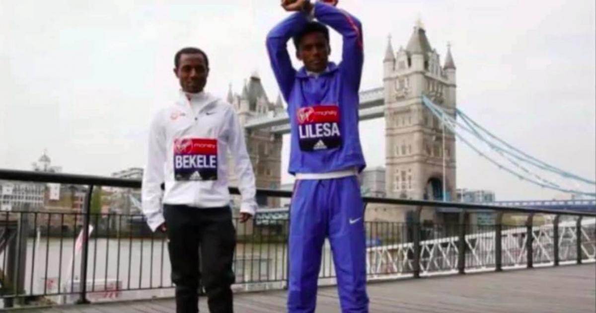 Ethiopian athlete to protest at London Marathon