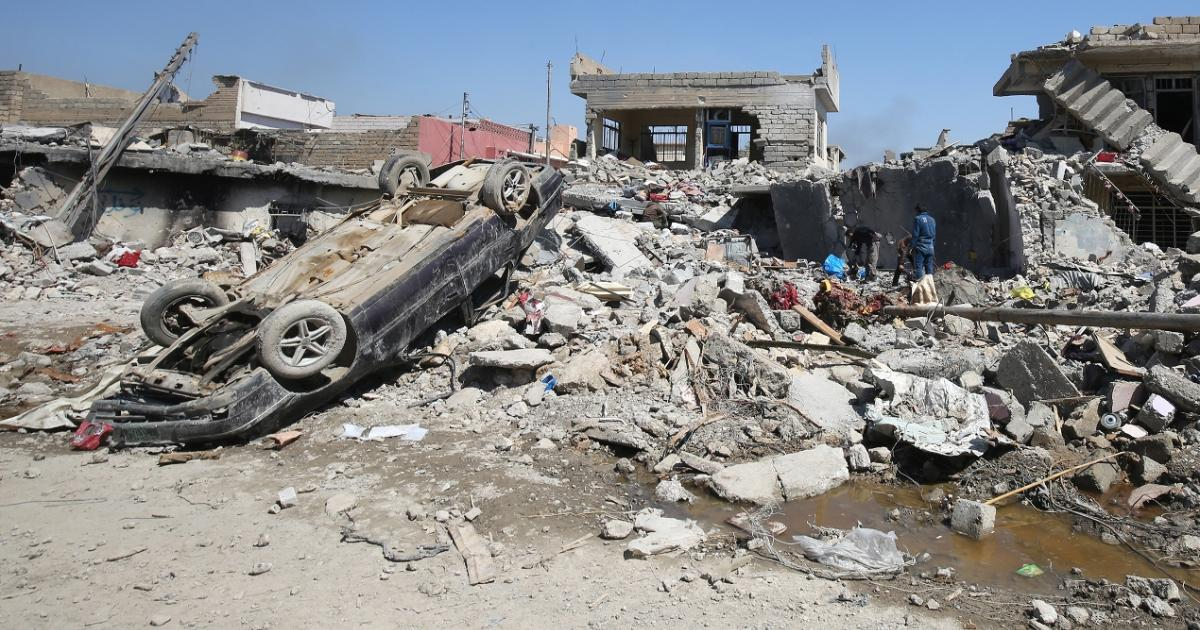 Pentagon report says more than 100 civilians killed in March bombing in Iraq