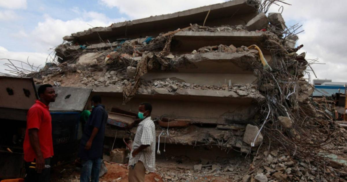 6 killed, 12 injured in church building collapse in Burundi's Bubanza province: official
