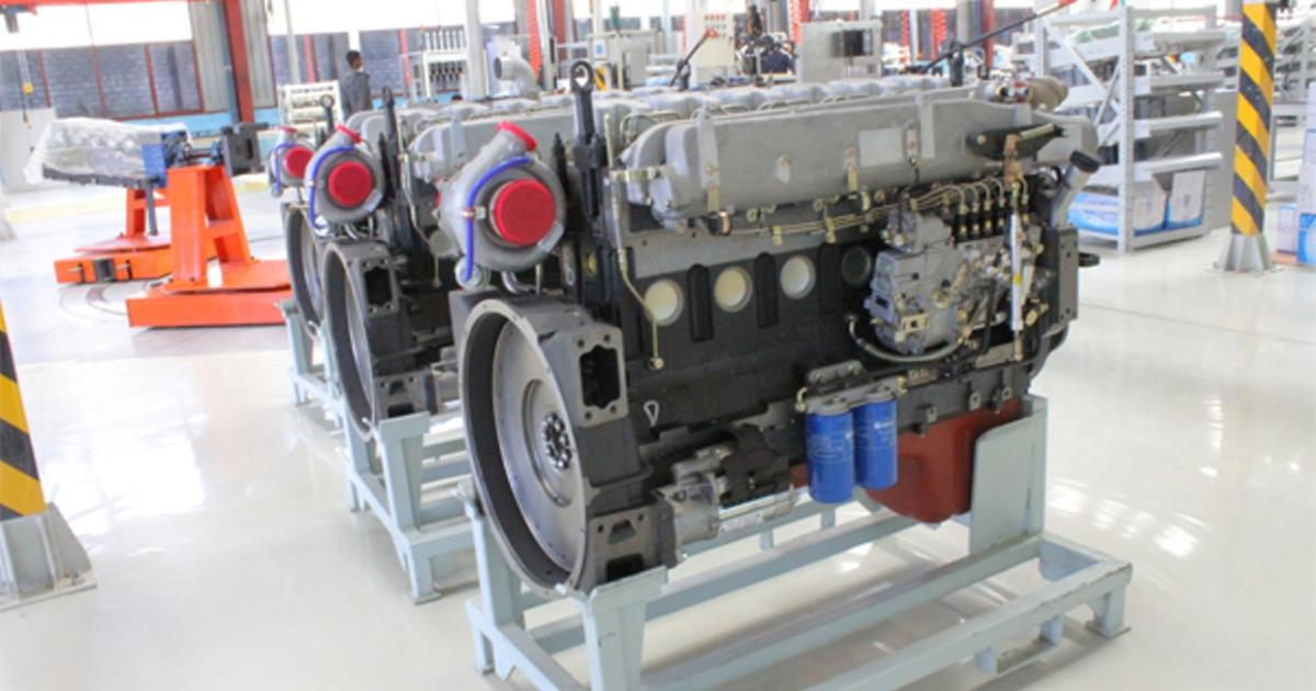 The First Engine Factory Opens in Meqelle