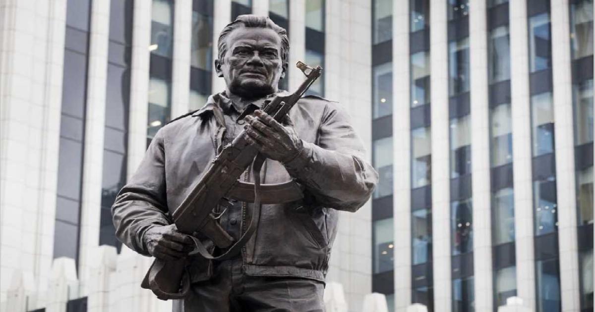 Moscow unveils monument to Kalashnikov, designer of AK-47