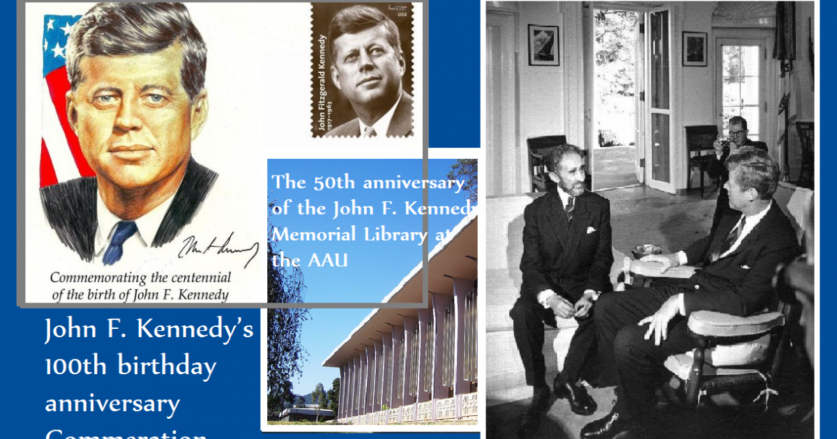 President John F. Kennedy's 100th Birthday Celebrates at Addis Ababa University
