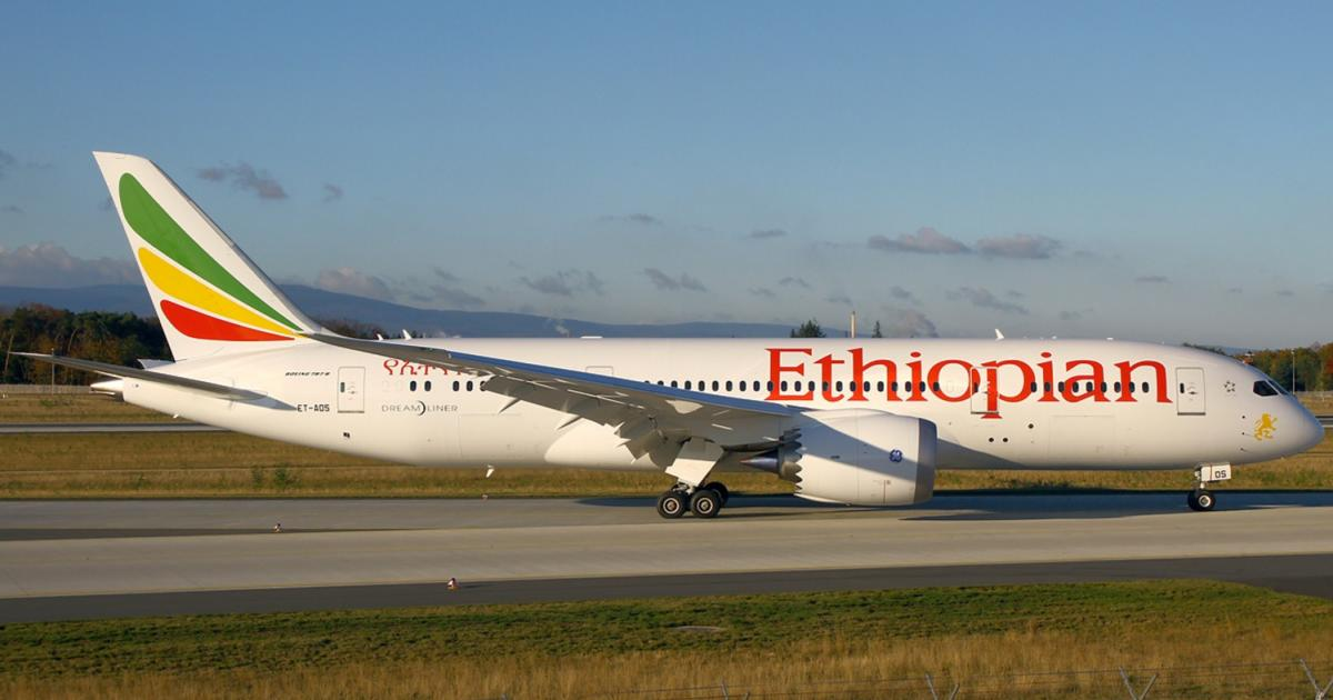 Ethiopian Airlines flight diverted from Addis Ababa to St. John's