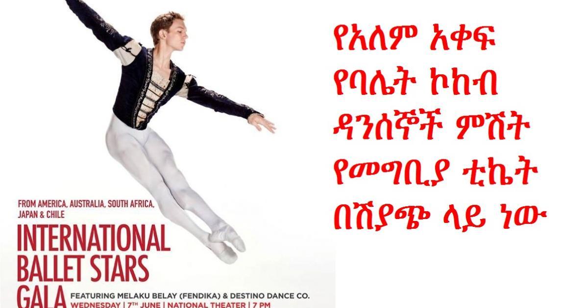 Second International Ballet Stars Gala Fundraiser