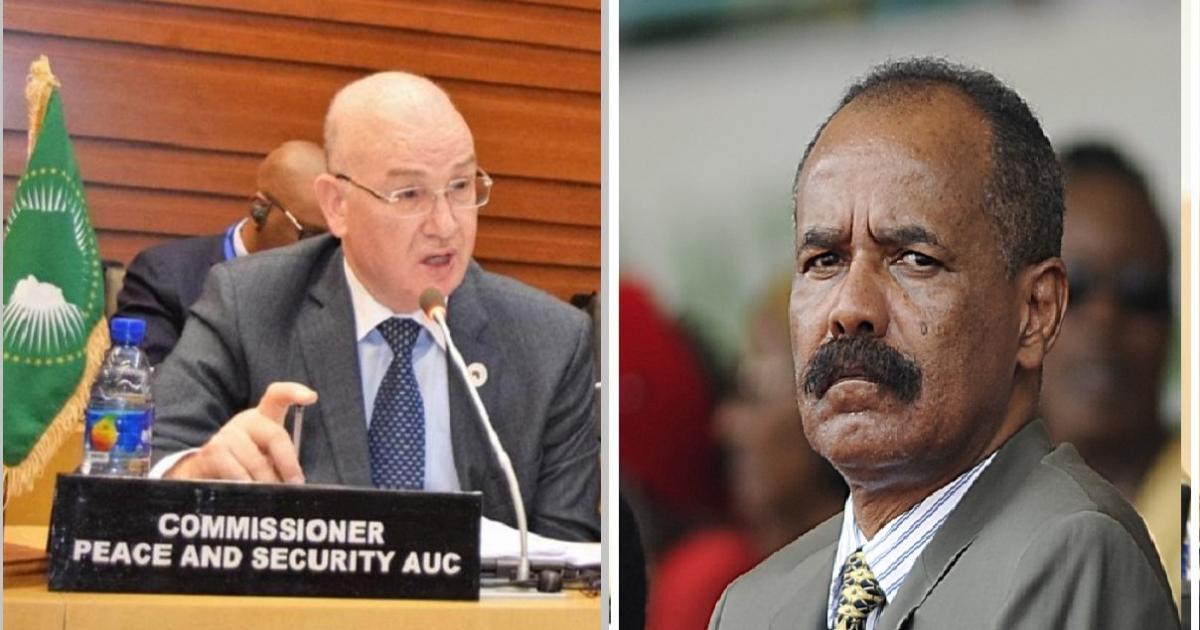 AU High Level Delegation Visit to Asmara, Eritrea
