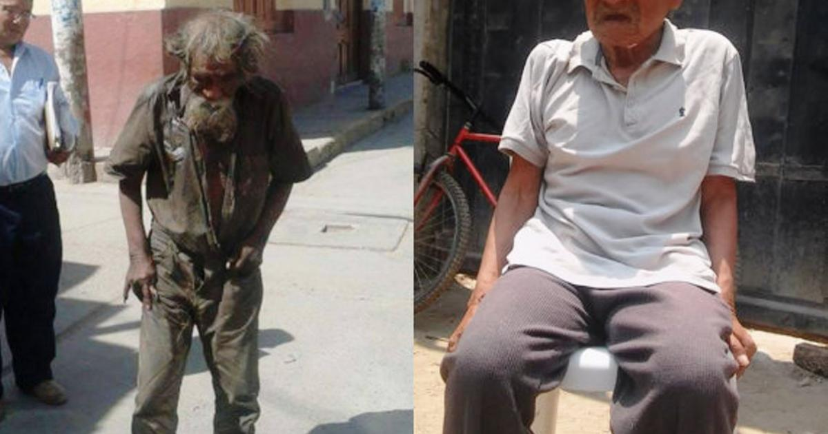 Peruvian Town Of Ferreñafe Gives Homeless Man Heartwarming Makeover