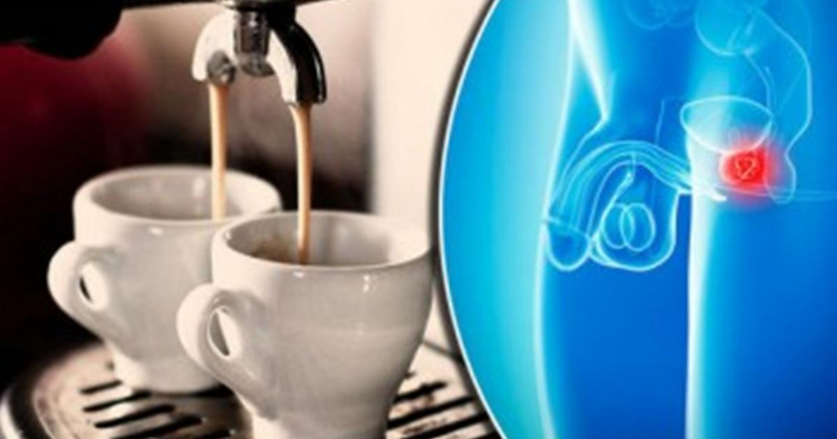 Three espressos a day cuts prostate cancer risk by 50%, study claims