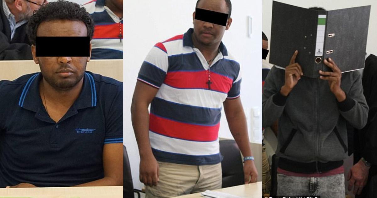 Three Ethiopian Asylum Seekers in German Accused of Rape