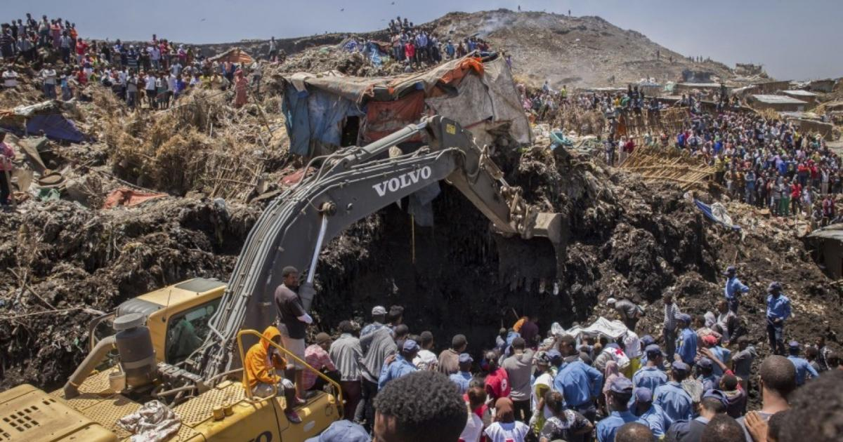Ethiopia to turn site of deadly landfill collapse into park