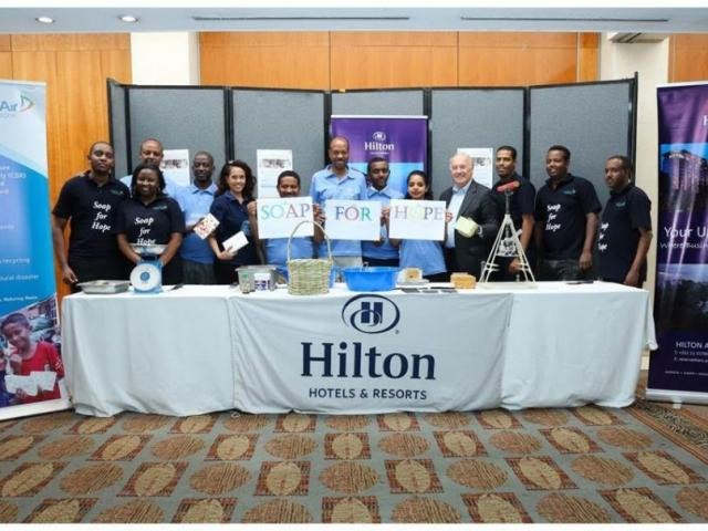 Hilton Addis Ababa partners with Sealed Air-Diversey to repurpose soap