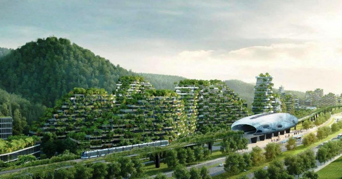 China is building first 'forest city' of 40,000 trees to fight air pollution
