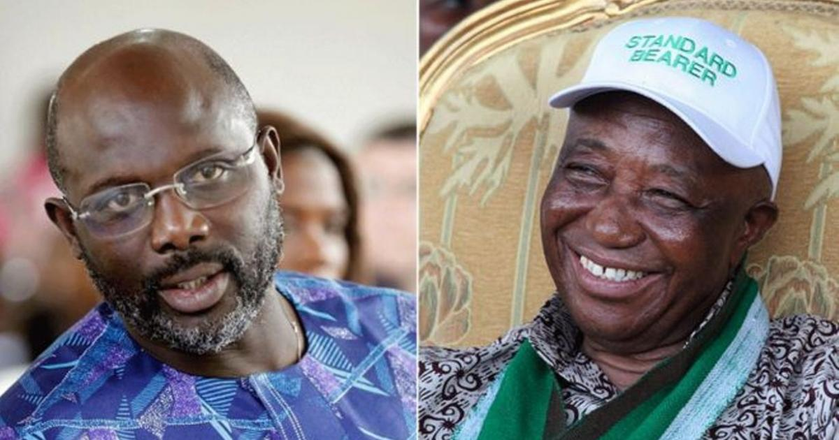 Liberia election: Weah and Boakai headed for preside...