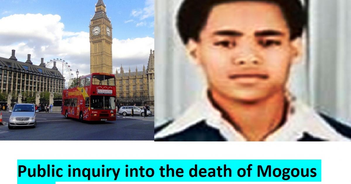 Public inquiry into the death of Mogous Abay